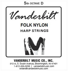 Vanderbilt Folk Nylon, 5th Octave D
