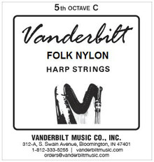 Vanderbilt Folk Nylon, 5th Octave C