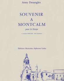 Desangles, Souvenir a Montcalm