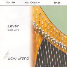 Lever Bass Wire, 6th Octave B