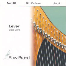 Lever Bass Wire, 6th Octave A