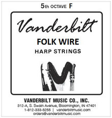 Vanderbilt Folk Wire, 5th Octave F