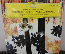 Henze, Double Concerto-Fantasia-Sonata (LP)