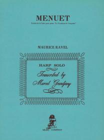 Ravel/Grandjany, Menuet