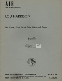 Harrison, Air (Score)