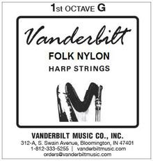 Vanderbilt Folk Nylon, 1st Octave G
