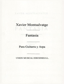 Montsalvatge, Fantasia for Harp and Guitar