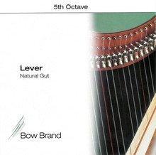 Bow Brand Lever Gut: 5th Octave (E-F)