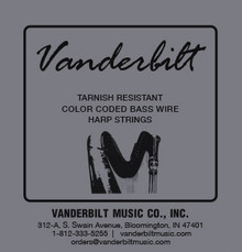 Vanderbilt Tarnish Resistant 7 Wire Set (5th Octave G through 6th Octave A)