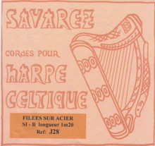 Savarez Celtic Harp Wire 5th Oct B (Aziliz J28)