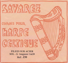Savarez Celtic Harp Wire 5th Oct G (Aziliz J30)