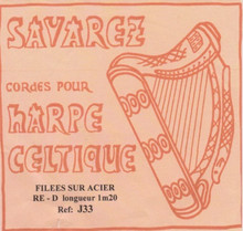 Savarez Celtic Harp Wire 6th Oct D (Aziliz J33)