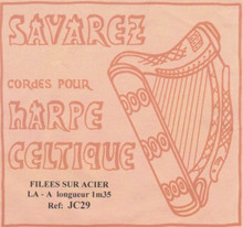 Savarez Celtic Harp Wire 5th Oct A (Aziliz JC 29)