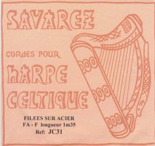 Savarez Celtic Harp Wire 5th Oct F (Aziliz JC31)