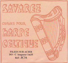 Savarez Celtic Harp Wire 6th Oct C (Aziliz JC 34)