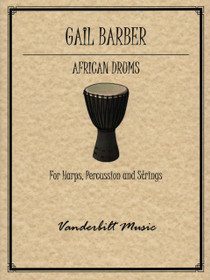 Barber, Gail: African Drums (Harp, Percussion and Strings)