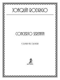 Rodrigo, Concierto Serenata (Score + Parts)