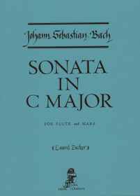 Bach/Zucker, Sonata in C Major for Flute and Harp