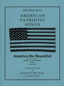 Burton, America the Beautiful (Solo Harp) (Digital Download)
