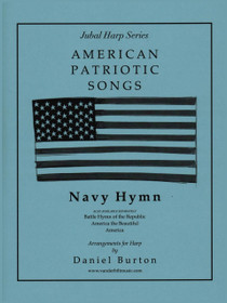 Burton, Navy Hymn (Solo Harp) (DIGITAL DOWNLOAD)