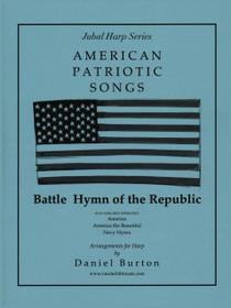 Burton, Battle Hymn of the Republic (Solo Harp)