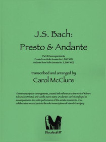 Bach/McClure, Presto & Andante (DIGITAL DOWNLOAD)