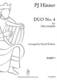 Hinner, Duo No. 4 for Two Harps