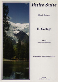 Debussy/Luzignant: Petite Suite, II. Cortege for Viola, Bass and Harp