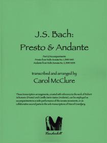 Bach/McClure - Presto and Andante
