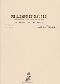 Gounod/Verdalle, Philemon et Baucis, Introduction Pastorale for Harp Solo