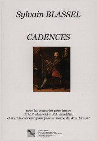 Blassel, Cadences (Cadenzas) for concertos of Mozart, Handel and Boieldieu