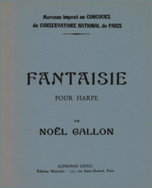 Noel-Gallon, Fantaisie for Harp