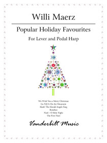 Maerz: Popular Holiday Favourites for pedal harp and lever harp