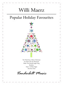 MAERZ: POPULAR HOLIDAY FAVOURITES FOR PEDAL HARP AND LEVER HARP (DIGITAL DOWNLOAD)