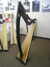Preowned Troubadour VI Lever Harp (Ebony) 5 years old