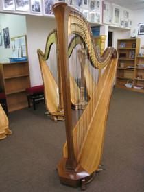 Preowned Lyon & Healy Style 30 Pedal Harp (Walnut) 2 YEAR RENTAL
