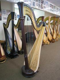 Floor Model Lyon & Healy Style 85GP Pedal Harp (Mahogany)