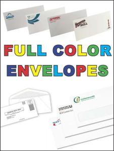 Full Color Window Envelopes