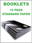 Booklets / Programs - 12 page Standard from $1.21 each