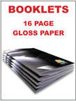 Booklets / Programs - 16 page Gloss from $1.73 each