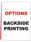 A1B - BACKSIDE PRINTING - From $5