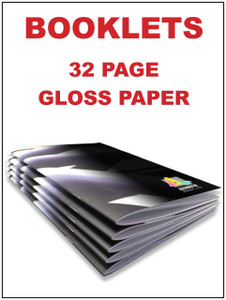Booklets 32 page gloss