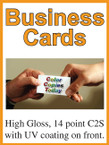 Business Cards - Single Sided Full Color - From $26