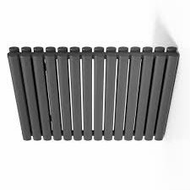 633mm x 826mm x 79mm Celsius Radiator - Anthracite