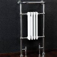 965mm x 495mm Traditional Radiator