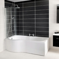 1500mm x 700mm Tempest P Shaped Left Hand Bath