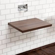 600mm x 450mm Walnut Floating Shelf