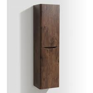 Bali Chestnut Wall Mounted Storage Cabinet