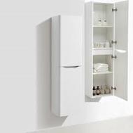Bali White Ash Wall Mounted Storage Cabinet