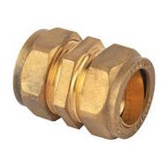 15mm Compression Straight Coupler